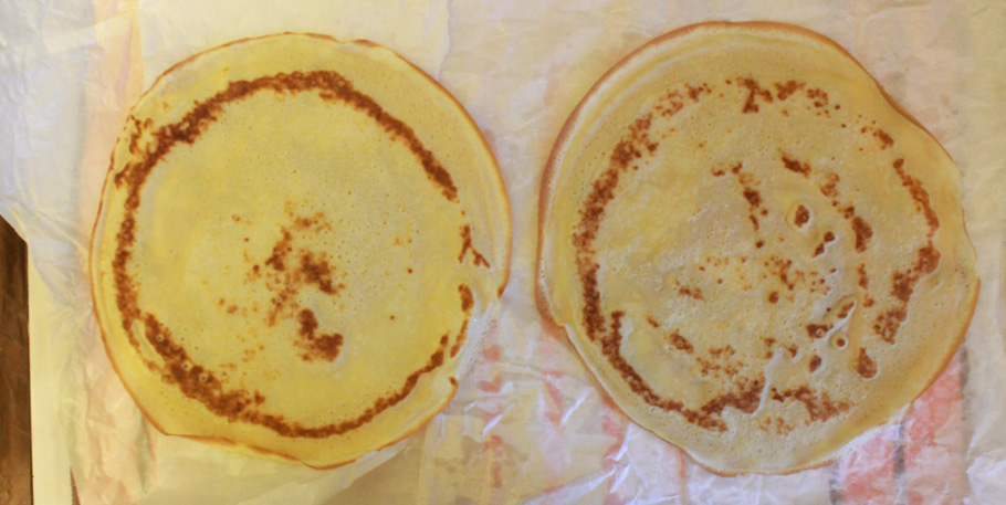 Рецепт блинов на молоке тонкие сладкие с пошагово в