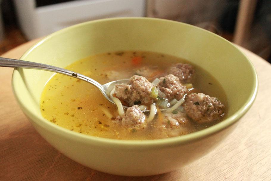 Суп с фрикадельками рецепт из фарша