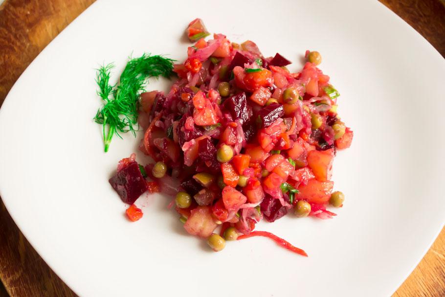 Вкусный винегрет рецепт без квашеной капусты